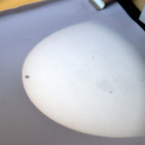 Sunspotter solar transit projection