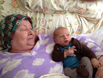 Greatgrandma and latest descendant